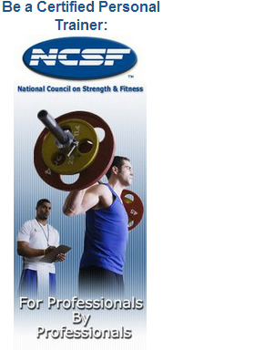 personal Trainer certification