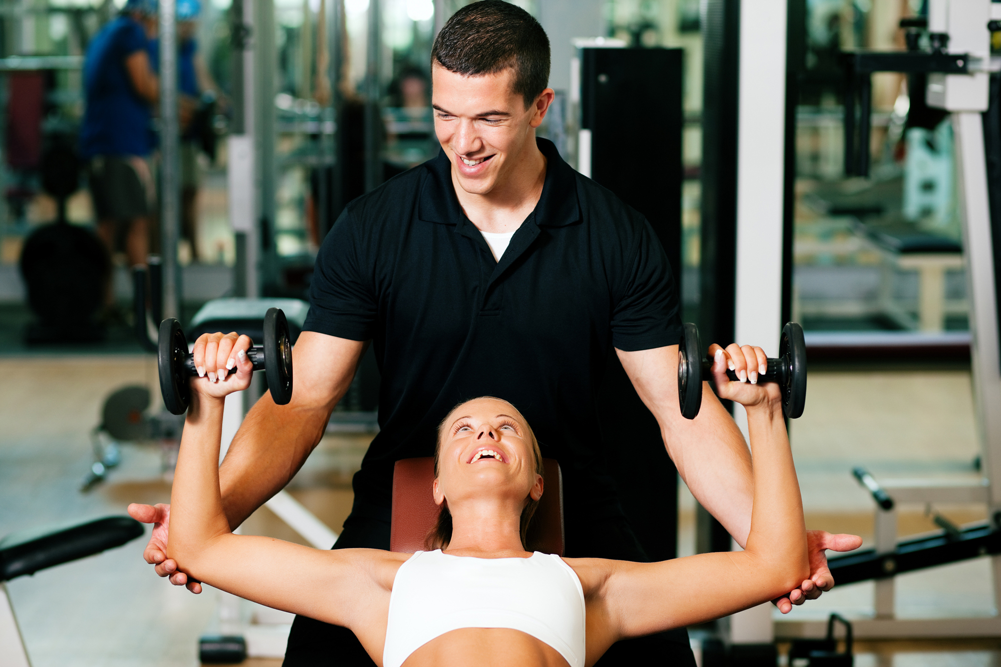 Personal trainers who deliver gold s gym training